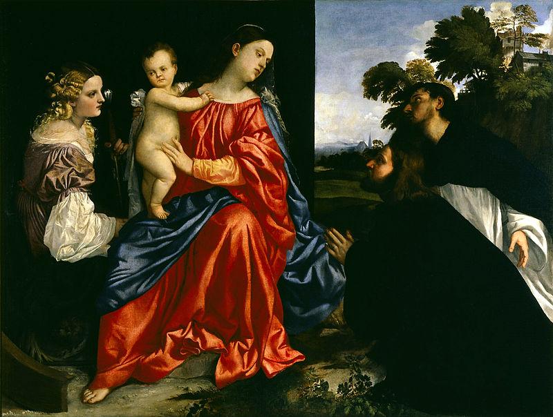 La storia e l'origine del rosso Tiziano