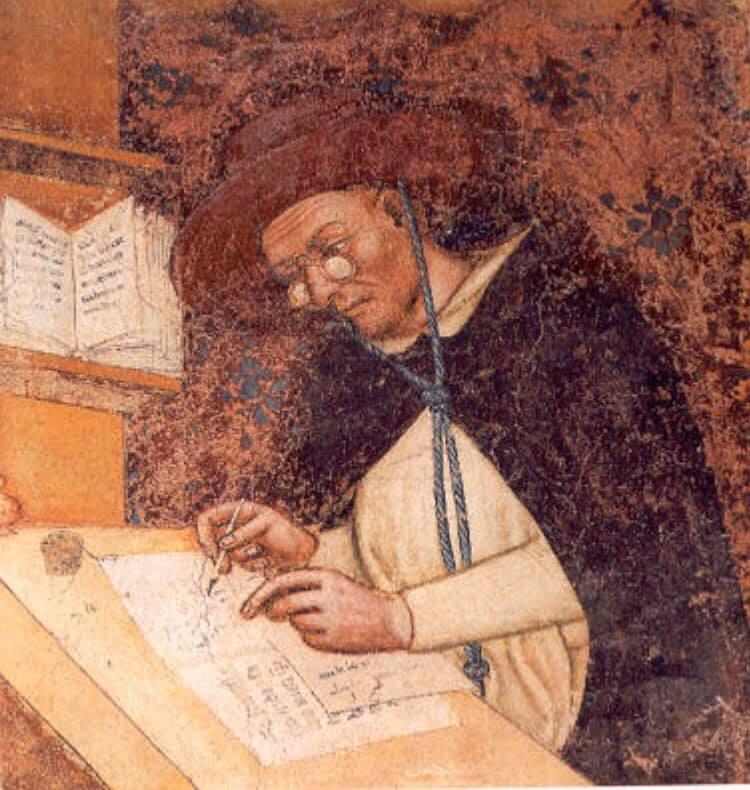 Lo sai che il primo dipinto al mondo con gli occhiali è a Treviso?