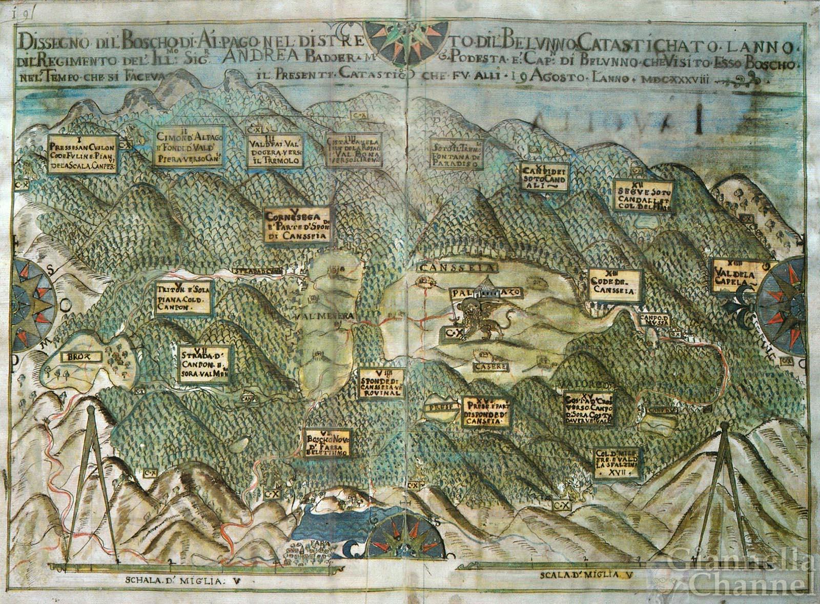 La Serenissima e i boschi